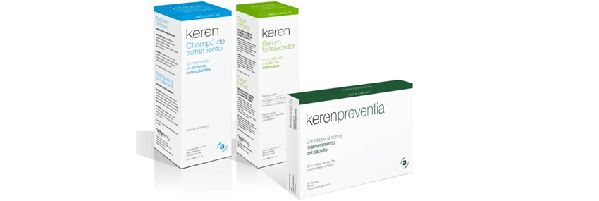 Stop hair loss with the Keren haircare line