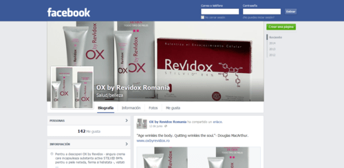 OX BY Revidox Facebook